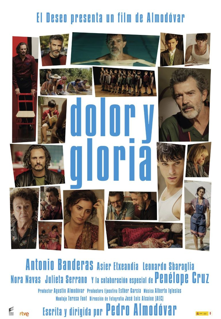 Affiche du film - Douleur et Gloire - Pedro Almodovar