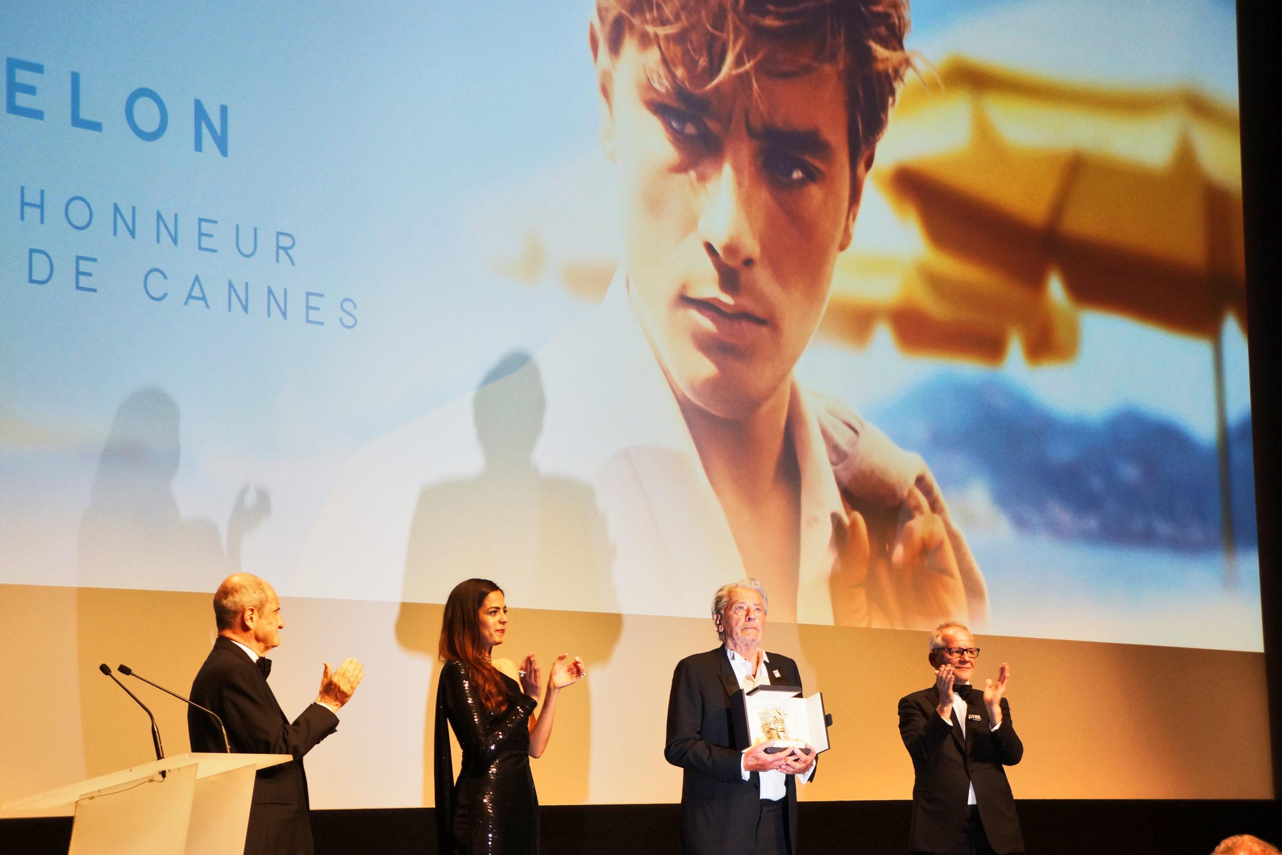 Palme d'honneur à Alain Delon