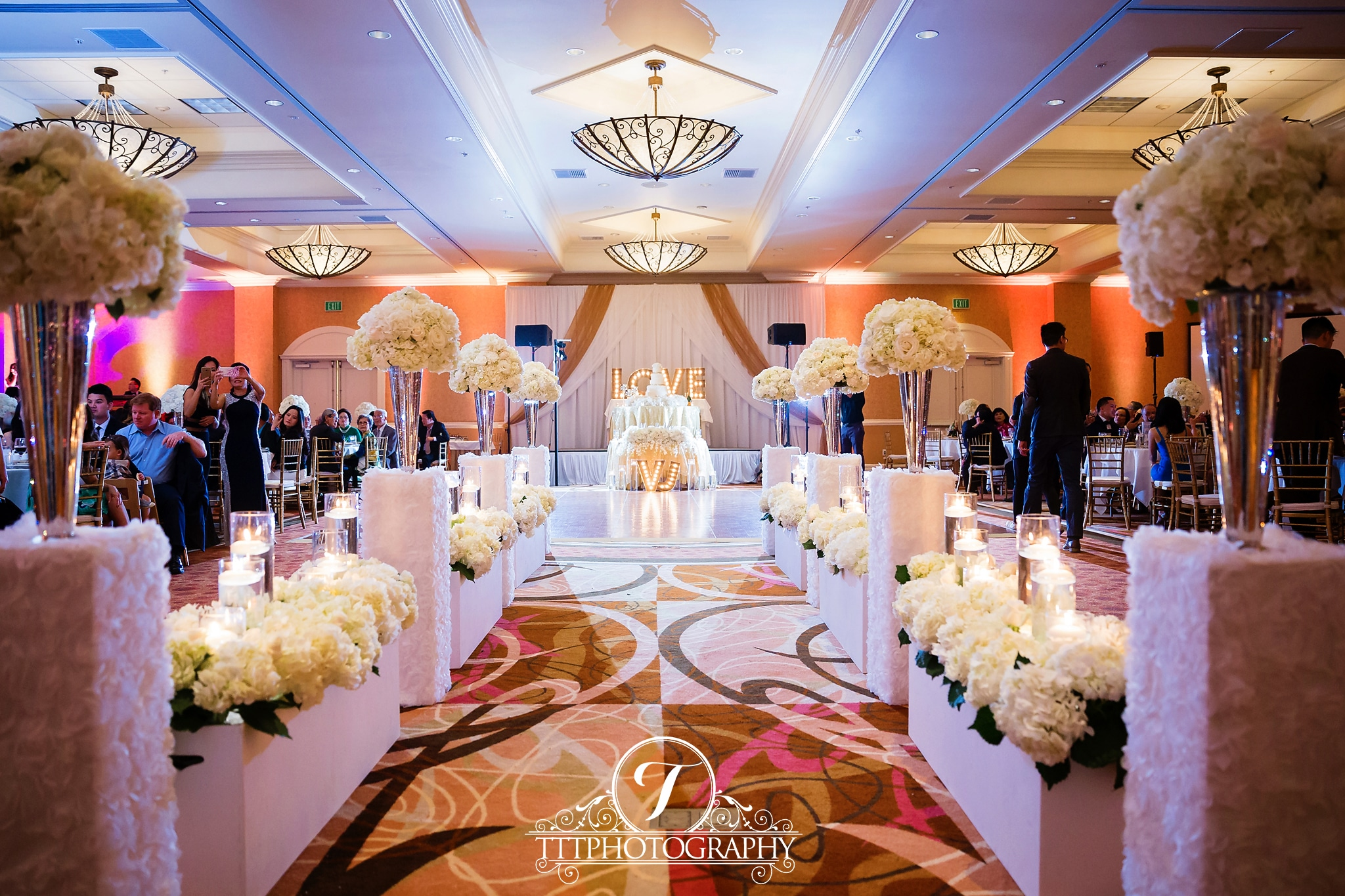 crystal cathedral wedding doubletree