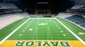 Baylor University's McLane Stadium. Picture from WikiMedia.