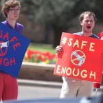 Protestors Petition 'Campus Carry' Bill