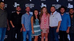 Brooke Bednarz, a senior at Texas Tech, won a meet and greet with the Josh Abbott Band on Sept. 19. Picture provided by Bednarz.