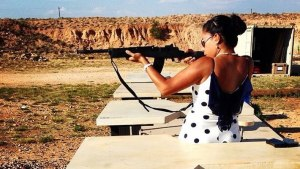 Cynthia Enriquez earned her CHL to be able to better protect herself.