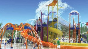 The new water park will continue to Lubbock tradition of spending summers at Sun n' Fun. Rendering of the park provided by the YWCA.