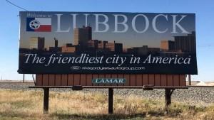 The billboard can be seen around town. Nicole Crites/The Hub@TTU
