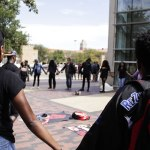 Students Hold Black Lives Matter Demonstration