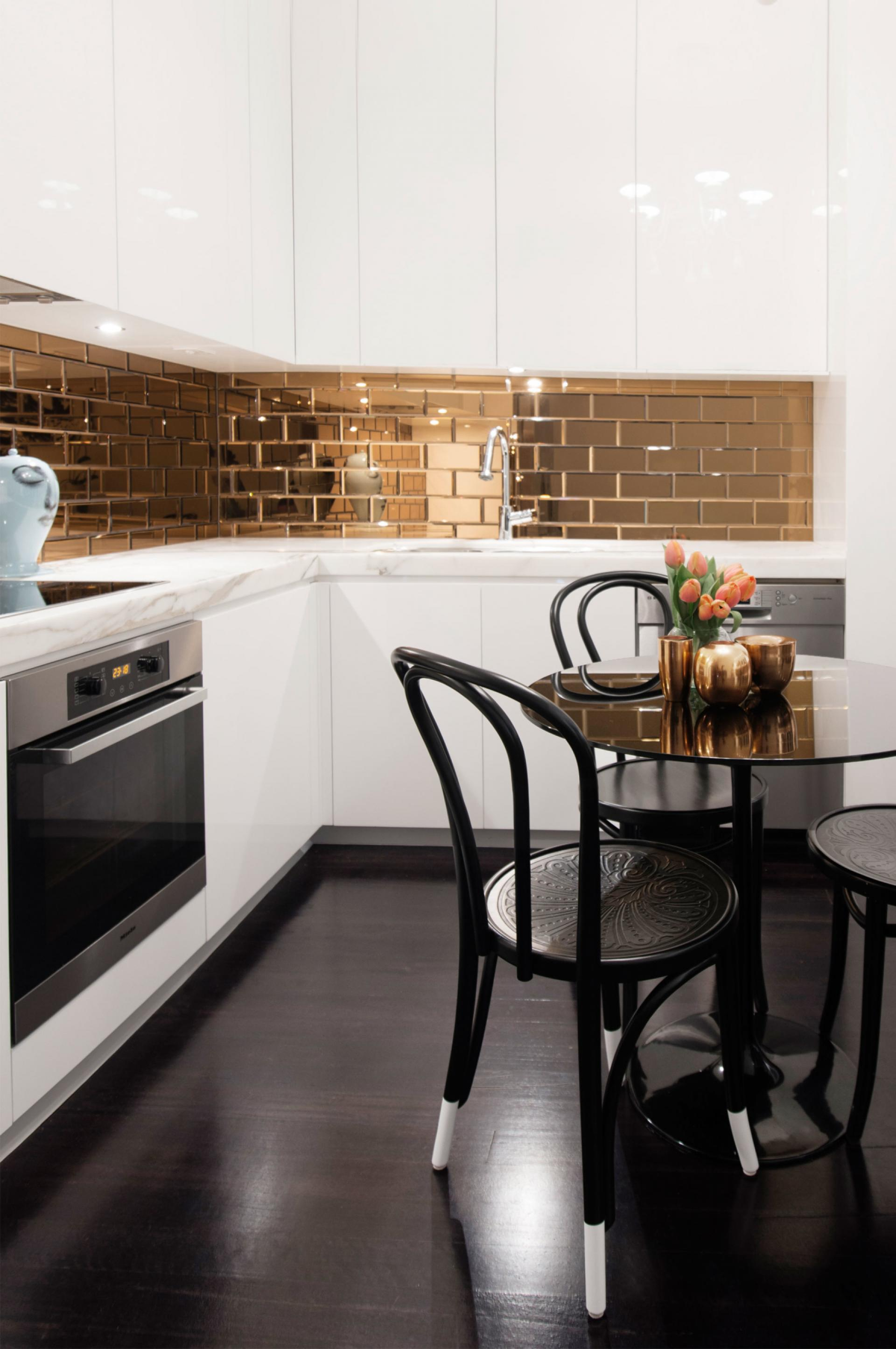 metallic kitchen wall tiles cabinet locks make a statement with the tile warehouse blog
