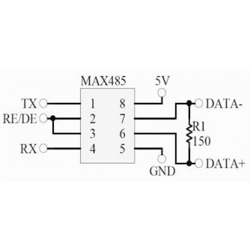 MAX485- Low-power- Transceivers-for- RS-485/RS-422