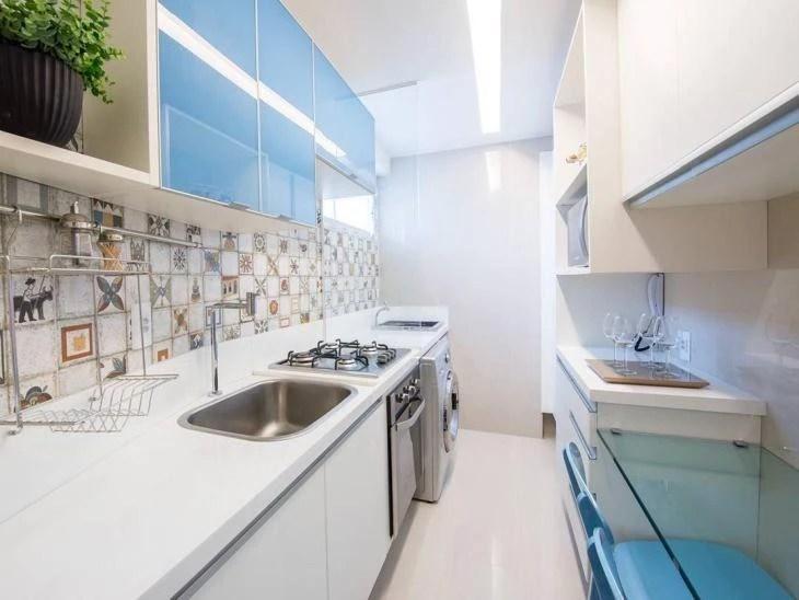 Cozinhas pequenas fotos e truques indispensveis na decor
