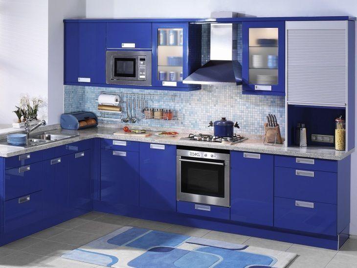 30 cozinhas decoradas para quem  apaixonado por azul