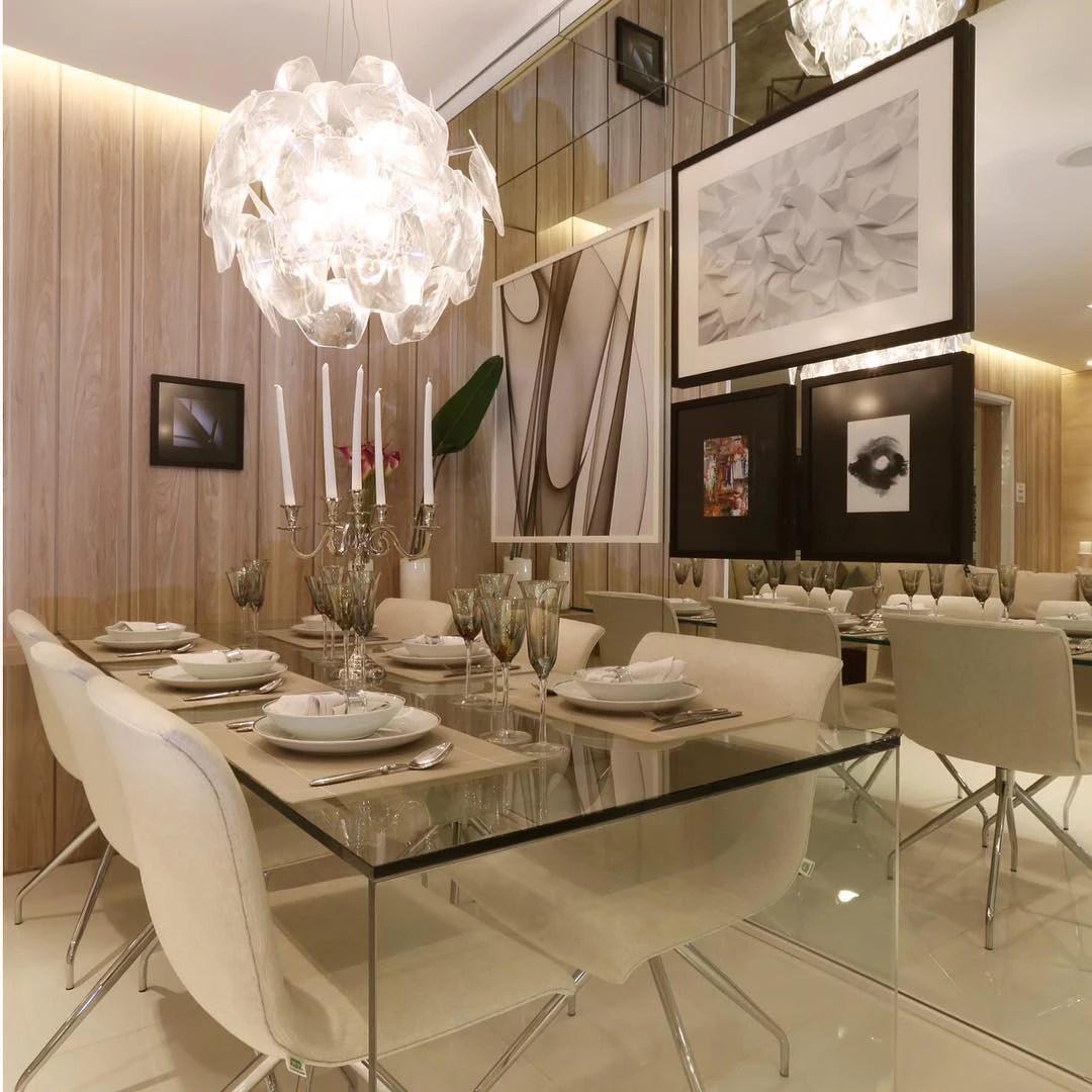 60 salas de jantar pequenas decoradas lindamente
