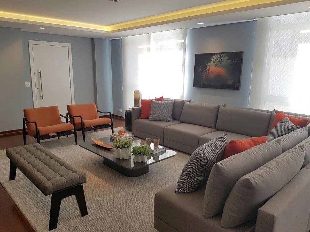 sofas modernos para sala de tv used leather sofa set 60 modelos sofá deixar sua mais confortável e