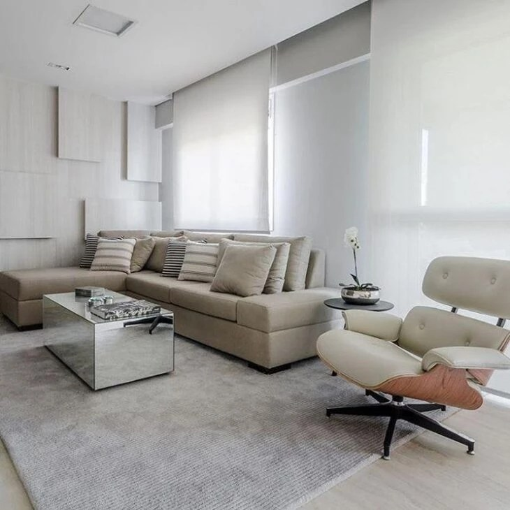 sofas modernos para sala de tv baker furniture sofa bed 60 modelos deixar sua mais confortavel e bonita foto reproducao ronaldo rizzutti