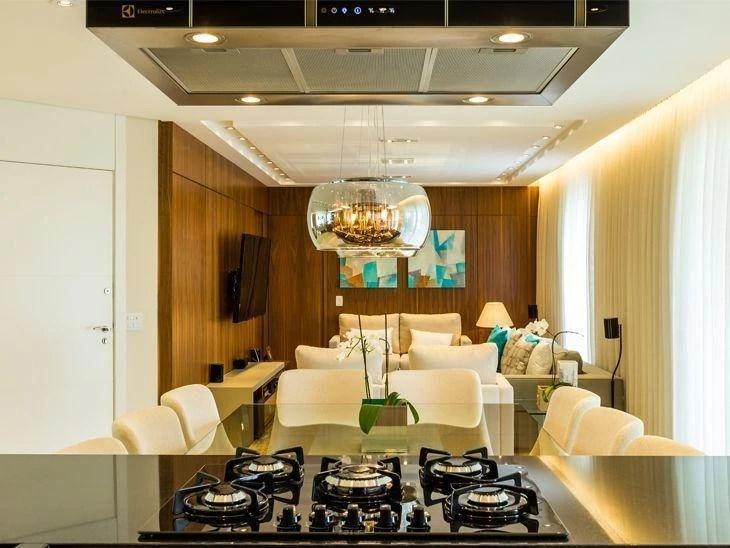 Projeto de decorao que aproveita bem os ambientes integrados