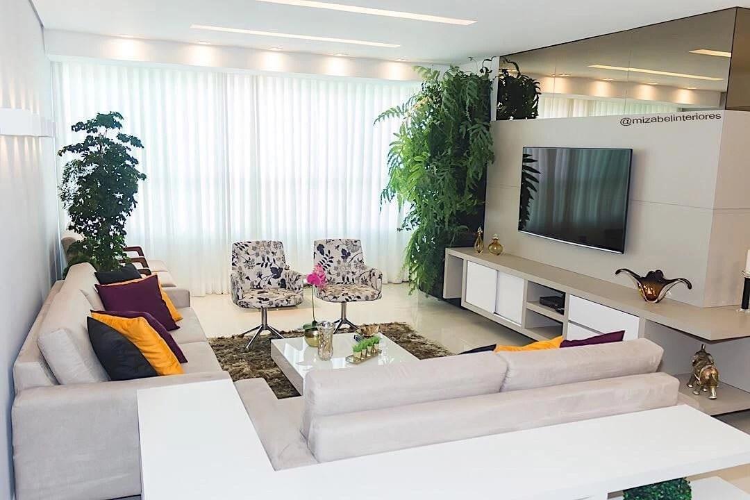 Sala de estar decorada 120 ideias com estilos diferentes