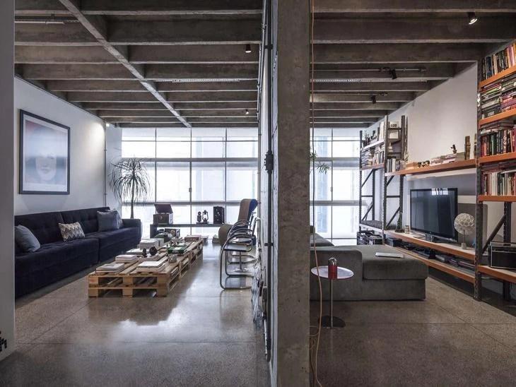 Com reforma apartamento no Copan ganha fluidez e estilo