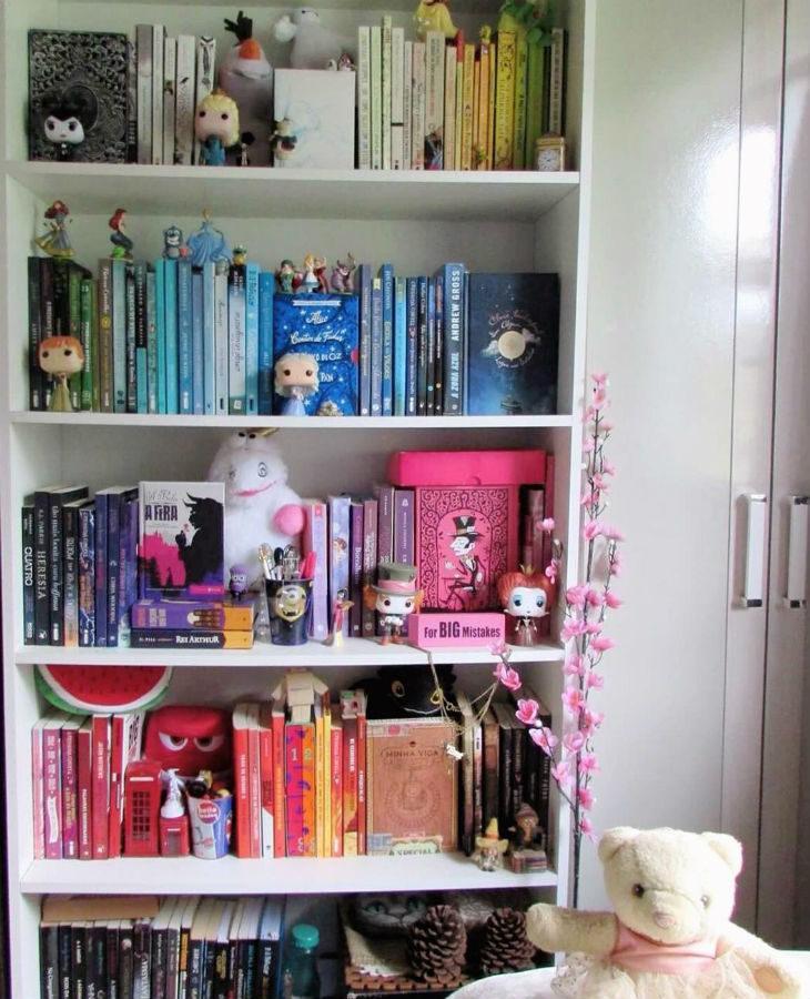 Prateleiras livros quarto de brinquedos t Prateleira livros