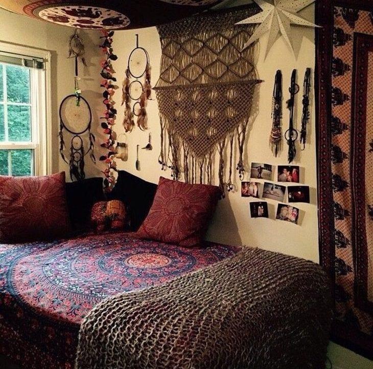 Quarto Hippie 30 Ideias Para Transmitir Paz E Amor