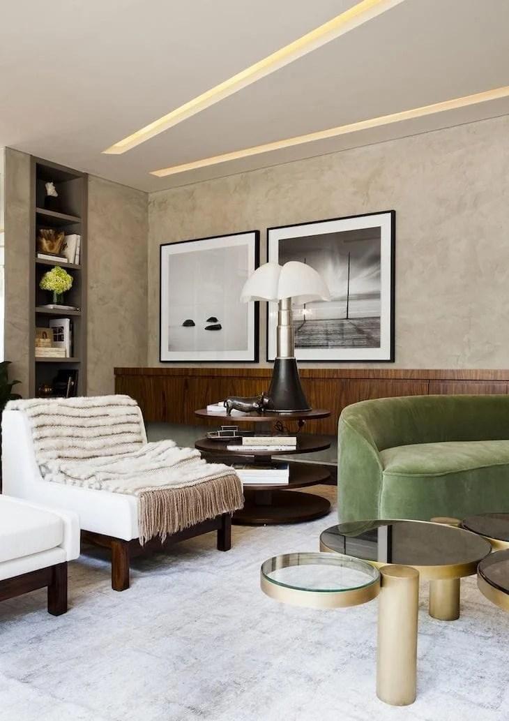 50 salas com quadros grandes para voc se apaixonar