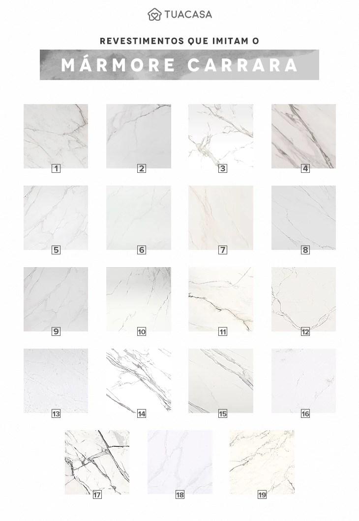 Mrmore Carrara 50 ambientes sofisticados com esta pedra clssica