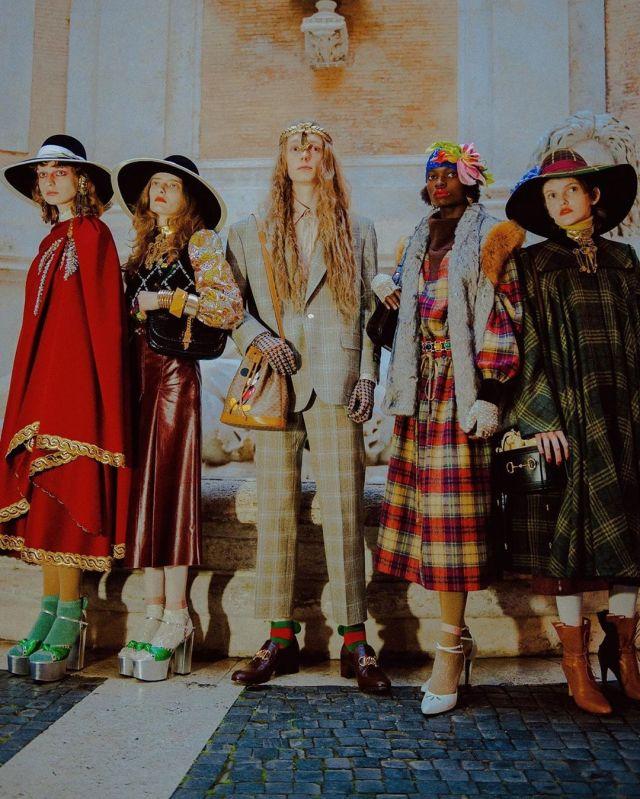 Gucci show musei capitolini