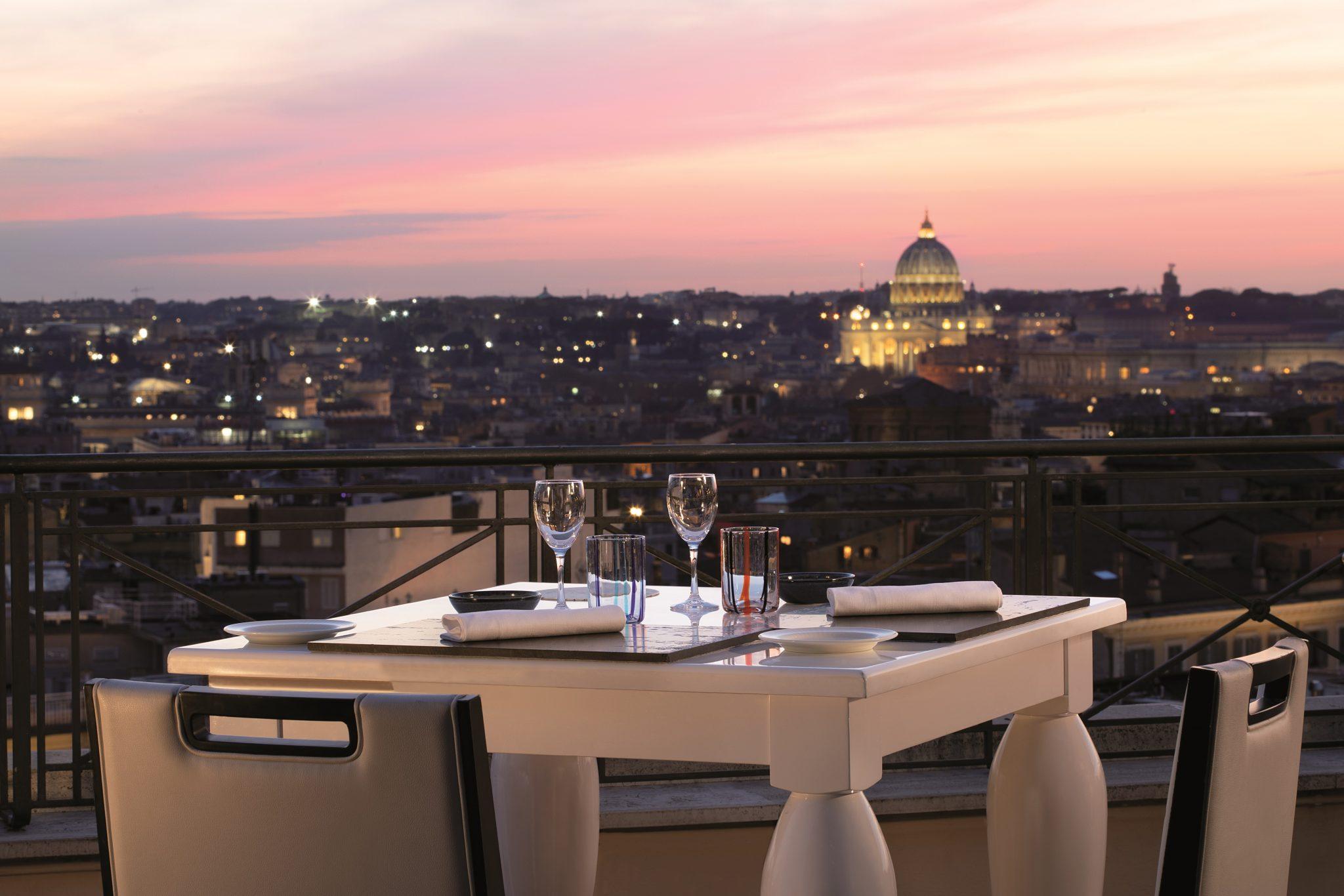 Cena Vista Cupole I Migliori Terrace Restaurant A Roma