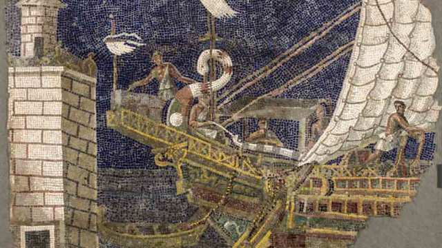 mostra colori dei romani