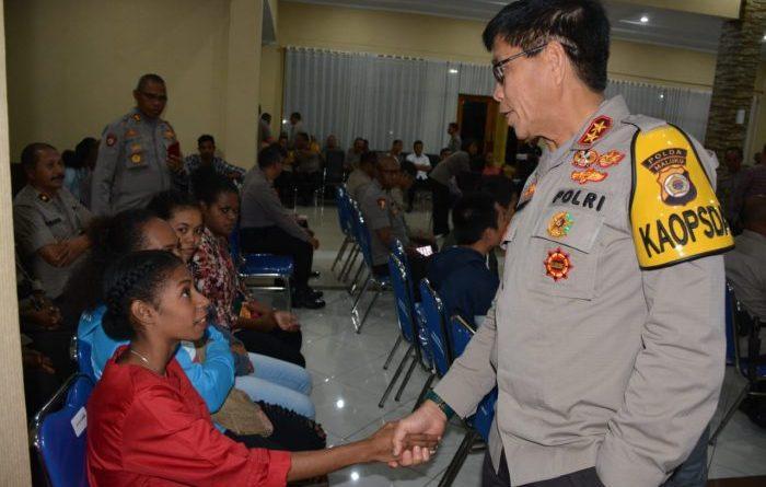 Kapolda Maluku Jamin Keamanan Mahasiswa Papua di Ambon