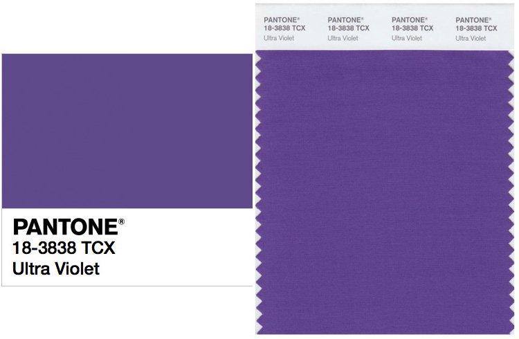Ultra Violet es el color del año 2018 según Pantone
