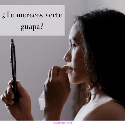 Imagen Mujer: ¿Te mereces verte guapa?