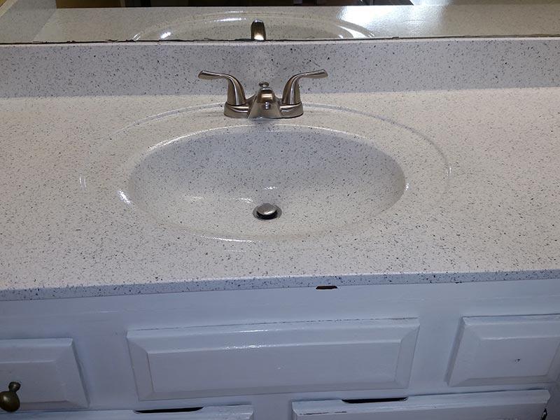 Refinish Bathroom Vanity