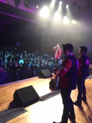 Banda Los Recoditos triunfa a lo grande y revienta en sold out las localidades en el San Manuel Casino en Higland California.