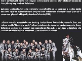 La Séptima Banda - Homenaje a Joan Sebastian