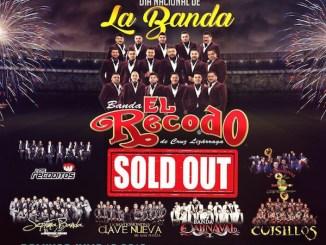 La Banda El Recodo de nueva cuenta consigue un logro más en su Carrera; logrando otro SOLD OUT en Pico Rivera Sports Arena
