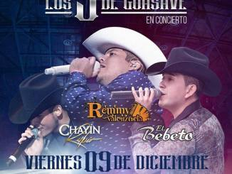 Los 3 de Guasave en Monterrey 9 de diciembre