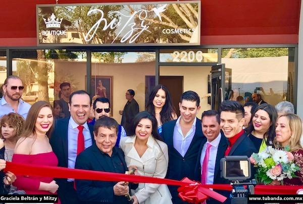 Graciela Beltrán Inaugura tienda de MItzy