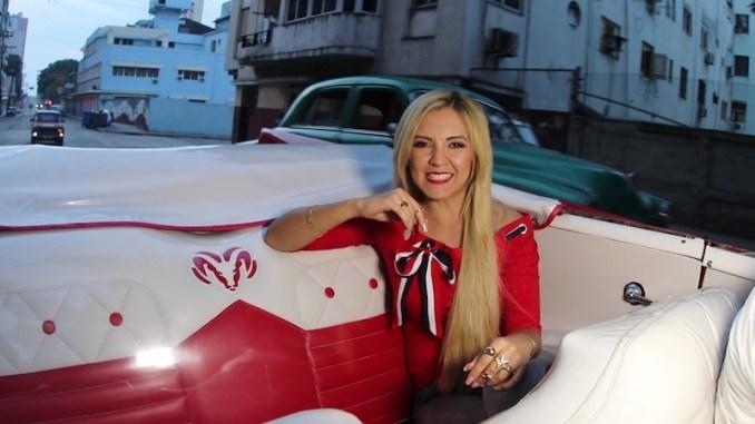 Ángela Veró en la Habana, Cuba