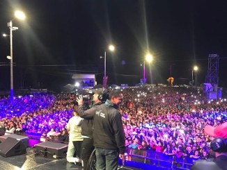 Christian Nodal en Colombia Gran Festival La Kalle