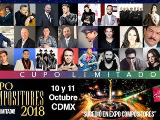 Expo Compositores 2018 se encuentra a la vuelta de la esquina.