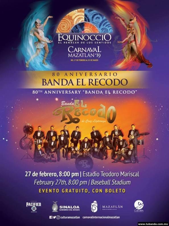 80 Aniversario de la Banda El Recodo