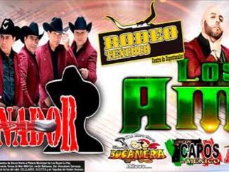 Bailazo en Rodeo Texcoco con Exterminador Los Amos Los Armadillos de la Sierra Los Capos de México y Banda Bucanera. Sábado 16 de Marzo 2019 9 pm, Preventa $150 pesitos.