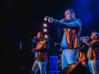 La Séptima Banda hizo vibrar al público de Coachella, California.