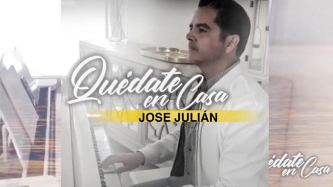 """El consentido del pueblo, José Julián, interpreta Quédate en casa"""", una composición de Carlos Macías"""