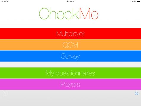 Homepage - CheckMe
