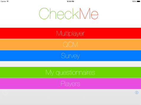 Homepage - CheckMe