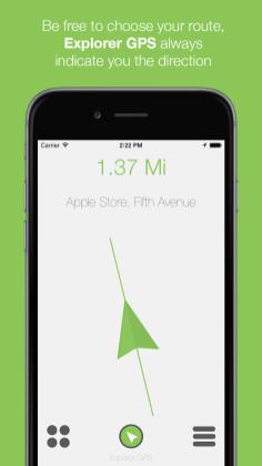 Screenshot 1 - Explorer GPS