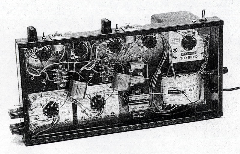 35w Tube Power Amplifier With El34 Circuit Diagram