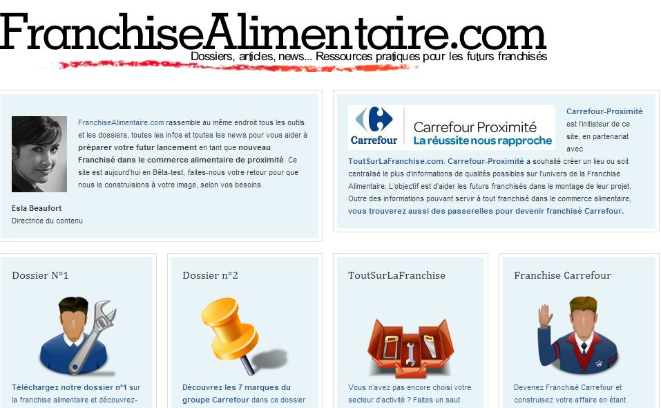 franchise alimentaire