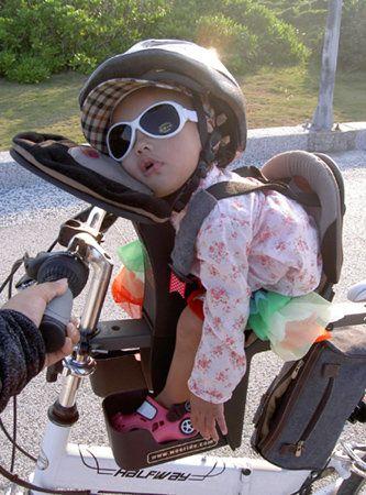 Silla Bebe Bicicleta Polisport