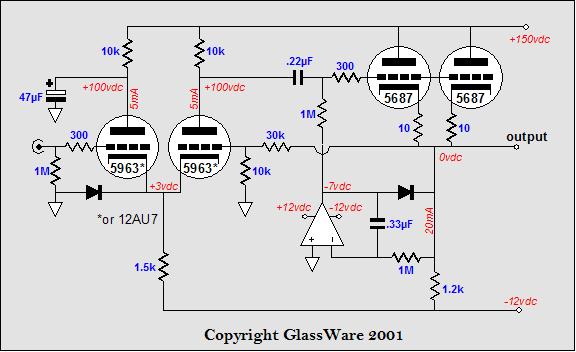 Common-cathode amplifier design ideas